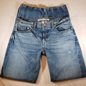 Banana Republic White Oak Cone Denim Jeans 34x34